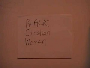 Black Christian Woman